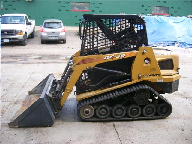 Where to find RC30 Track Loader w 48  Bucket in Langley