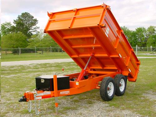 Where to find Trailer, Dump 2 axle,  surge brakes in Langley