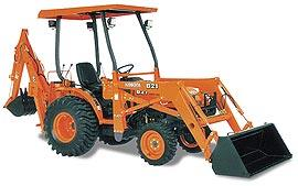 Where to find Tractor, w Hoe-7ft Kubota 26hp in Langley