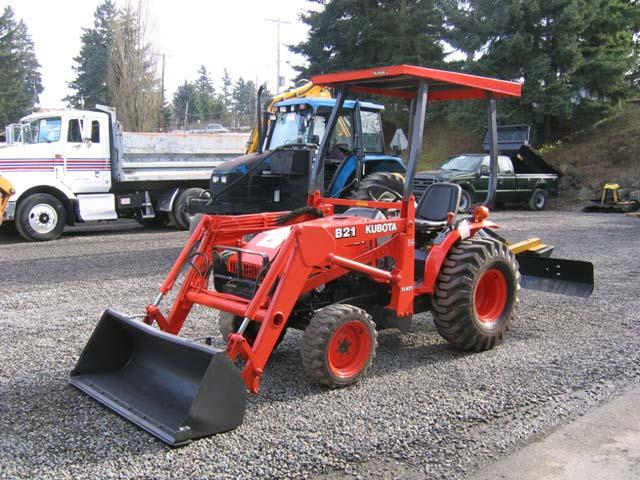 Where to find Tractor, w Grading Blade 26 hp in Langley