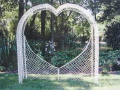 Where to rent Arch, Heart Wedding - Wicker in Langley WA