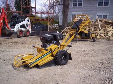 Where to find Stump Grinder-Vermeer 13hp in Langley